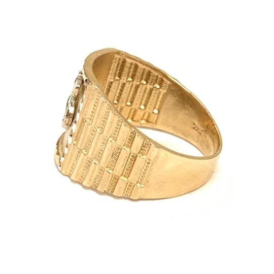 Other (992) 14K Gold Dollar Sign Ring Image 1
