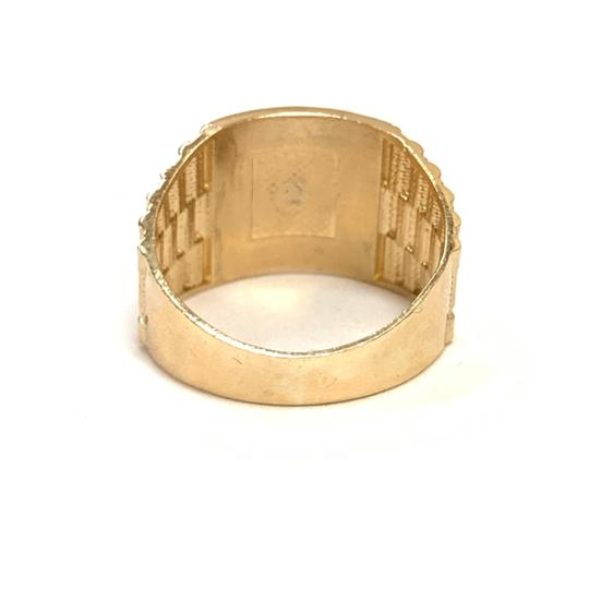 Other (992) 14K Gold Dollar Sign Ring Image 2