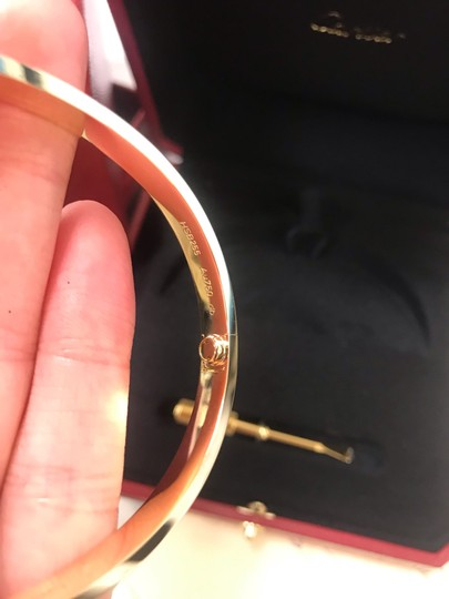 Cartier Love Bangle Size 20 Image 4