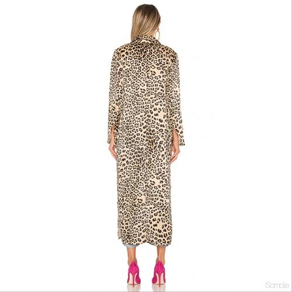 cfc41f462de1 House of Harlow 1960 Leopard Delaney Duster Poncho/Cape Size 6 (S ...