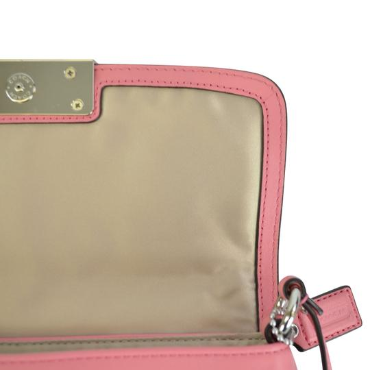 Coach Kristen Flap Leather Cross Body Bag Image 10