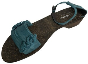 sotto sopra blue Sandals