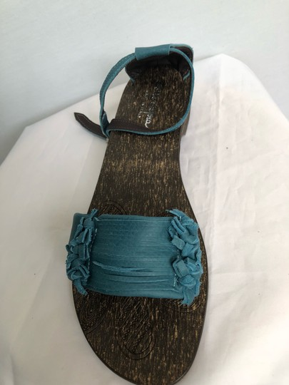 sotto sopra blue Sandals Image 1
