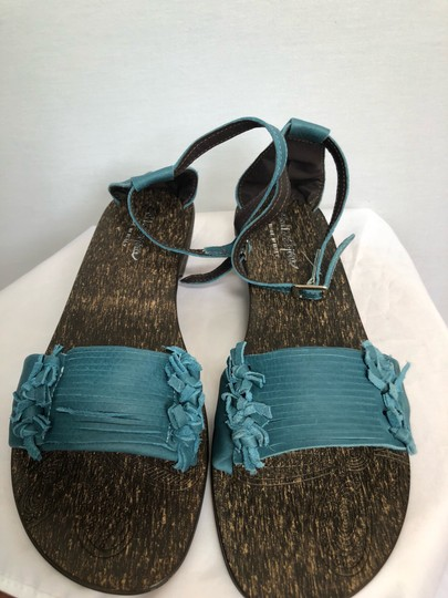 sotto sopra blue Sandals Image 3
