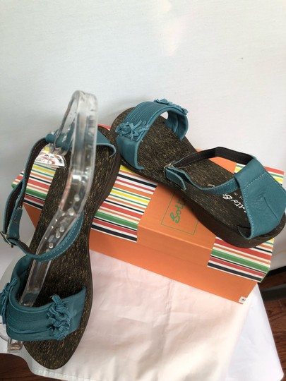 sotto sopra blue Sandals Image 5