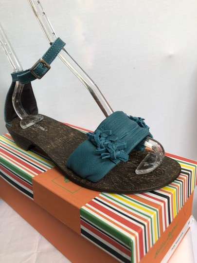 sotto sopra blue Sandals Image 6