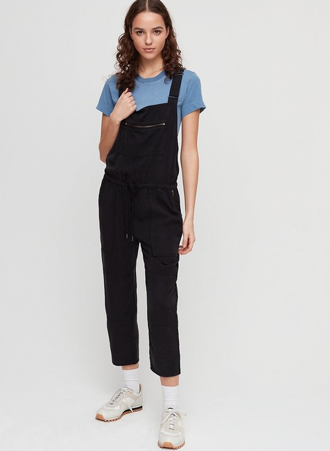 Aritzia Relaxed Pants Black Image 1