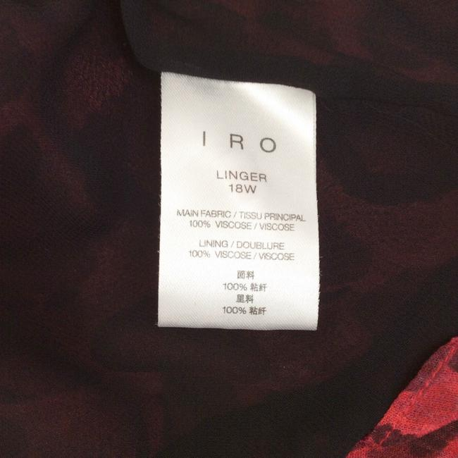 IRO short dress Red / Black on Tradesy Image 5