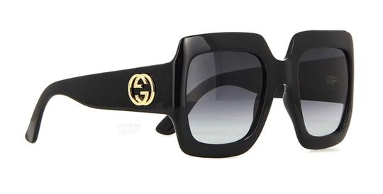 Gucci Gucci Oversized Style GG 0053S 001 - FREE 3 DAY SHIPPING Large Thick Image 4