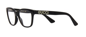 Gucci with Crystals GG0420O 001 -FREE and FAST SHIPPING -Optical Glasses