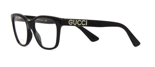 Gucci with Crystals GG0420O 001 -FREE and FAST SHIPPING -Optical Glasses Image 6