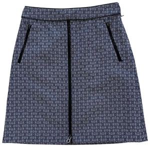 Tory Burch Skirt Navy Blue and White