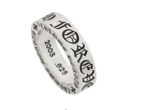 Chrome Hearts CH FOREVER 6MM SPACER RING SIZE 6