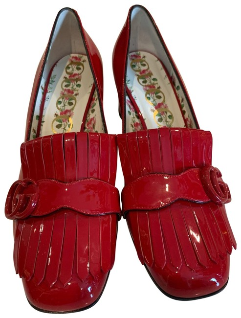 Item - Red Marmont Loafer Pumps Flats Size US 9.5 Regular (M, B)