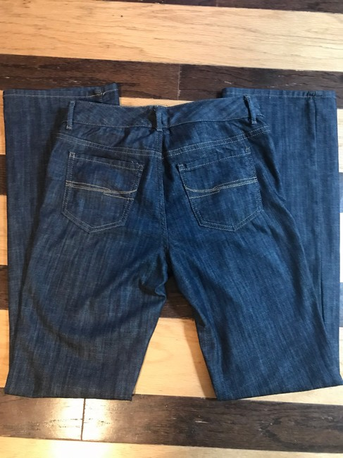 Tommy Hilfiger Boot Cut Jeans-Dark Rinse Image 4