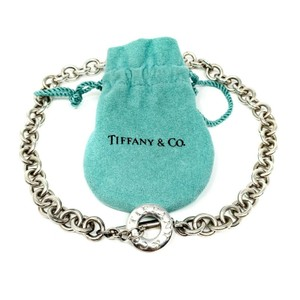 Tiffany & Co. Tiffany & Co. Silver 925 Toggle Link Necklace with Pouch 16 Inches
