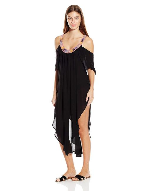 Item - Black XS Embellished Off The Shoulder Dress Xs/S Cover-up/Sarong Size 2 (XS)