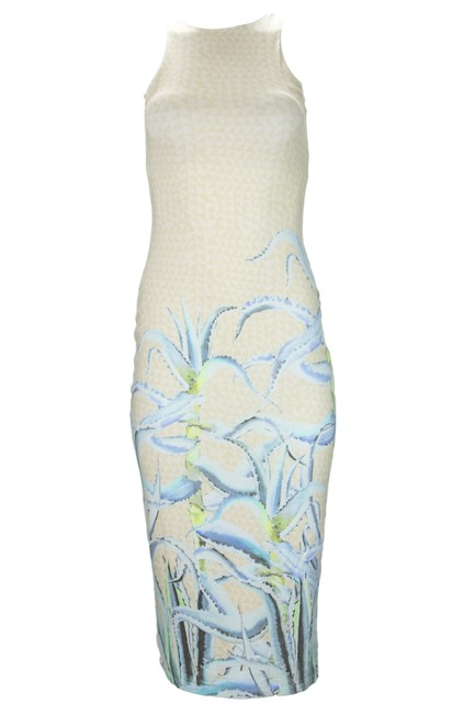 Item - Pastel Pink Fitted Midi Dress Cover-up/Sarong Size 4 (S)