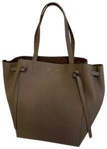 27f7fae80ec Added to Shopping Bag. Céline Tote in Taupe. Céline Cabas Phantom Medium  Taupe Calfskin Leather Tote