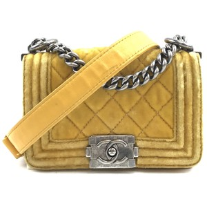 Chanel Cc Boy Mini Shoulder Bag