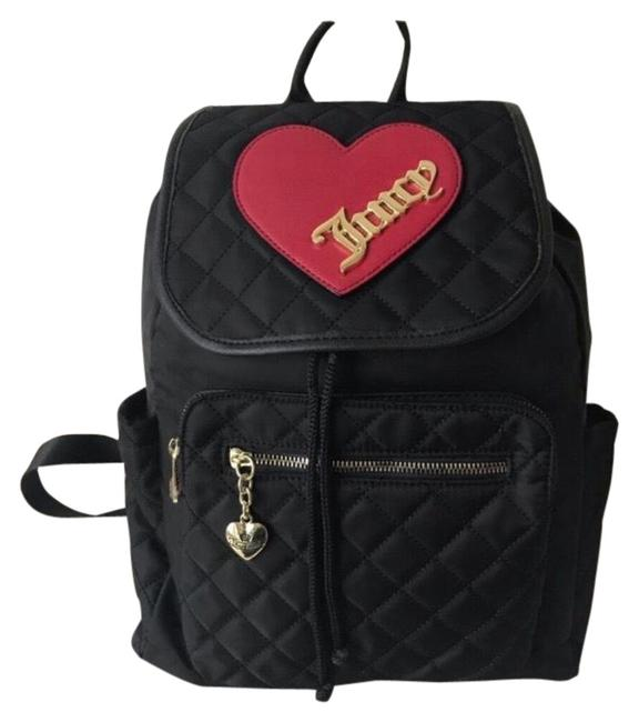 Item - Quilted Black Backpack