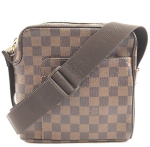 Louis Vuitton Damier Olav Square Canvas Cross Body Bag