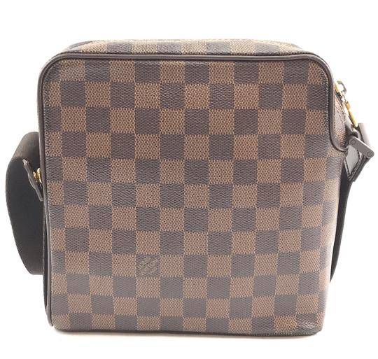 Louis Vuitton Damier Olav Square Canvas Cross Body Bag Image 1