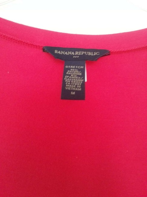 Banana Republic T Shirt Raspberry