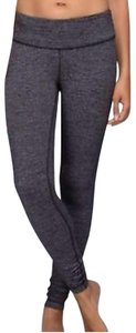 Lululemon Lululemon Black Heathered Herringbone Sold Out Wunder Under Leggings