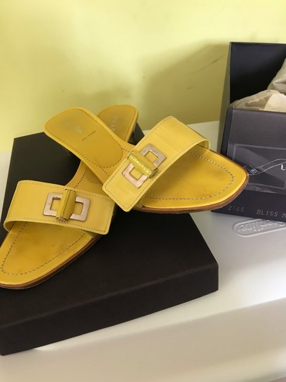 Prada yellow Sandals Image 1
