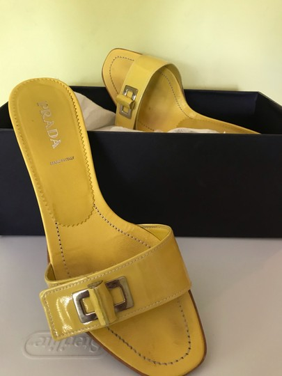 Prada yellow Sandals Image 2