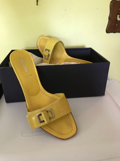 Prada yellow Sandals Image 3