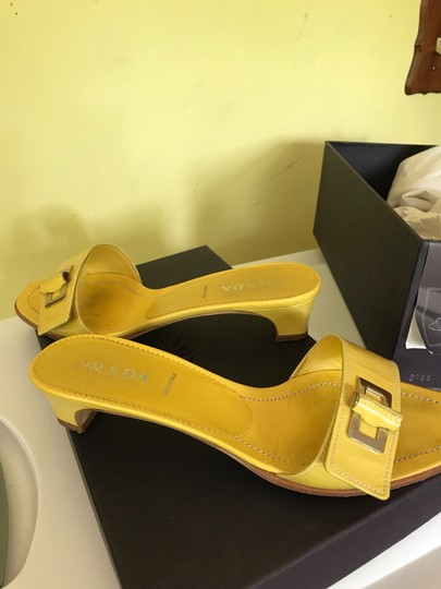 Prada yellow Sandals Image 4