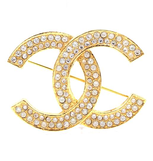 Preload https://img-static.tradesy.com/item/25490982/chanel-30069-gold-timeless-cc-smoked-crystals-hardware-brooch-pin-charm-0-1-540-540.jpg