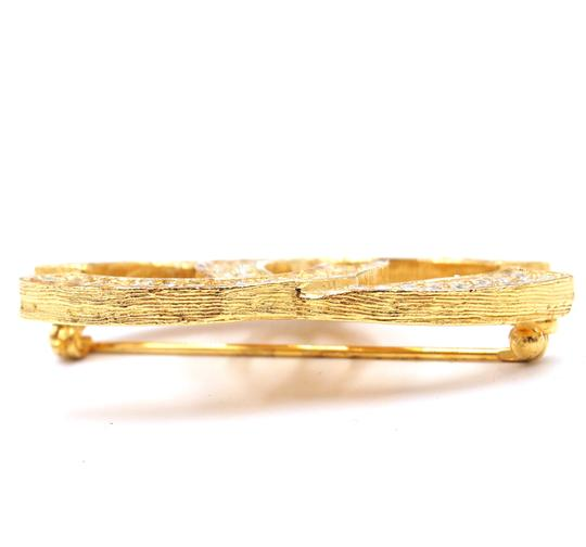 Chanel Timeless CC Smoked Crystals gold hardware brooch pin charm Image 7