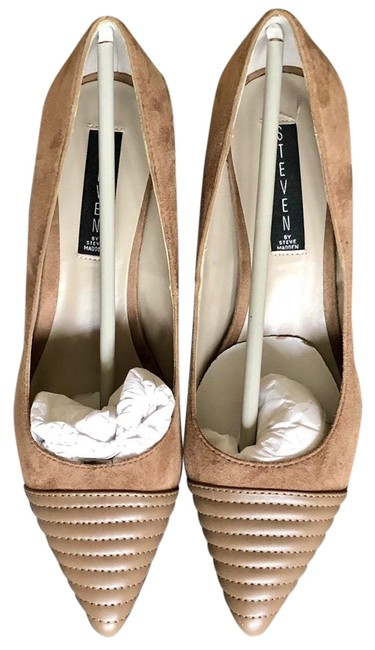 Item - Taupe Suedep-caseey Pumps Size US 8.5 Regular (M, B)