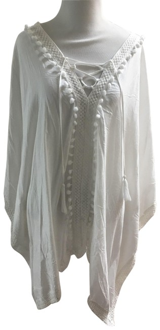 Item - White Cover-up/Sarong Size OS (one size)