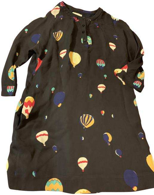 Item - Multicolor Brie Hot Air Balloon Short Casual Dress Size 14 (L)