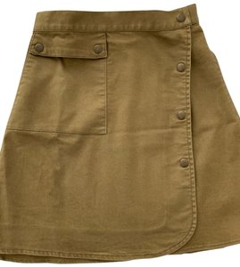 The Fifth Label Mini Skirt khaki green