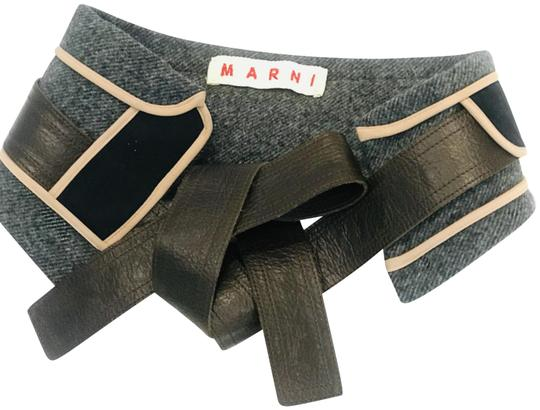Preload https://img-static.tradesy.com/item/25491530/marni-grey-black-brown-wool-panel-insert-belt-0-1-540-540.jpg