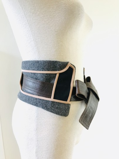 Marni wool panel insert belt Image 1