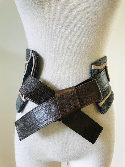 Marni wool panel insert belt Image 6