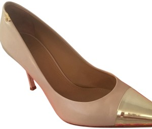 Tory Burch Light Taupe Pumps