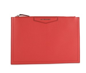 Givenchy Red Clutch
