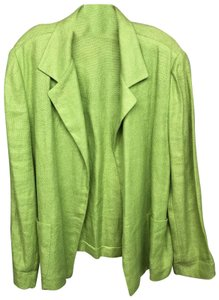 Ellen Tracy Jacket Green Blazer