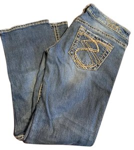 804dbf7c Silver Jeans Co. Straight Leg Jeans-Distressed