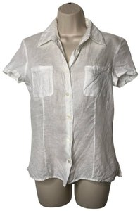 Malo Button Down Shirt white
