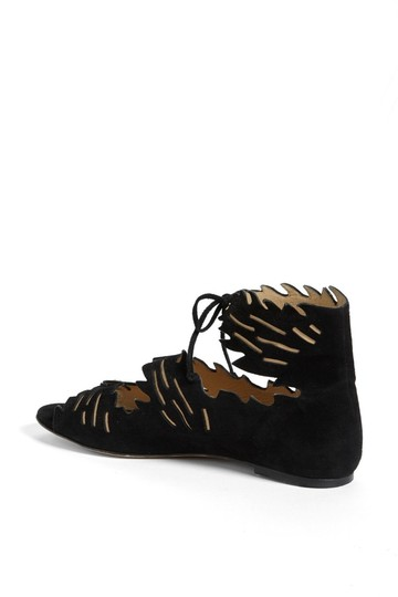 Charlotte Olympia Suede black Sandals Image 2