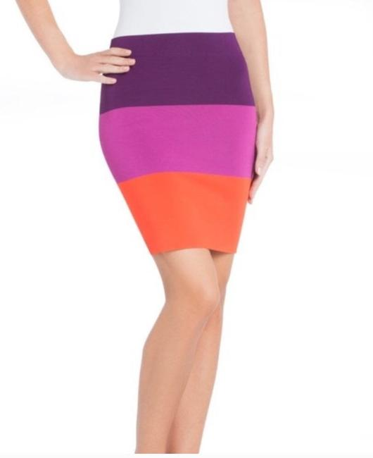 BCBGMAXAZRIA Skirt multicolored Image 1