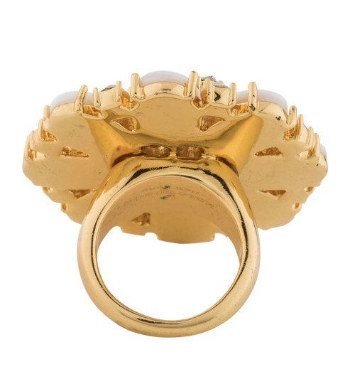Kate Spade NEW Bungalow Bouquet Cocktail Ring Image 3